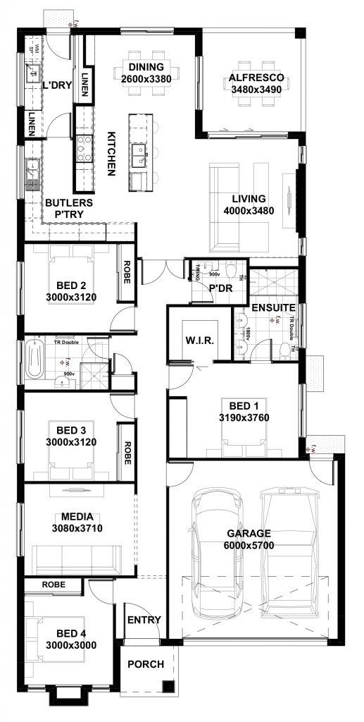 dual living house plans