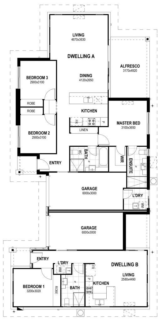SILKWOOD HOMES floor plan Kimberley 231